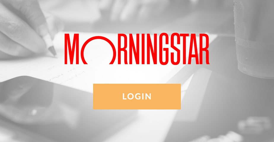morningstar client - Access your accounts button